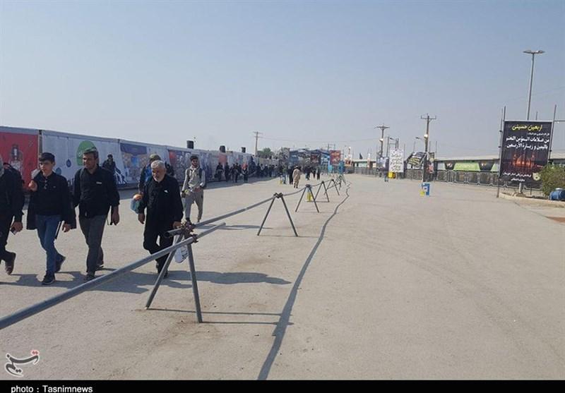 مسیر عبور اتباع خارجی از مرز شلمچه اختصاصی شد