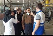 استقرار 440 نفر از کارکنان دانشکده پزشکی آبادان در مرز شلمچه