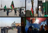 ساعتی در موکبهای مهاجرین افغانستانی/فرهنگ عجین شده ایرانی و افغانستانی در پذیرایی از زوار+ فیلم و تصاویر
