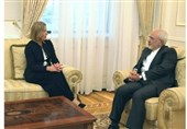 Iran's Zarif, EU's Mogherini Meet in New York