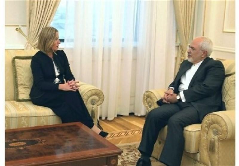 ظریف با موگرینی در نیویورک دیدار کرد