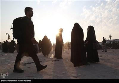 کربلا سے حسینی زائرین کی بازگشت
