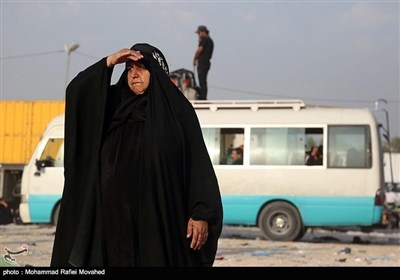 حسینی زائرین کی کربلا سے بازگشت
