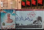 """پیکر مطهر شهید """"ثانیزاده"""" در شوشتر تشییع میشود"""