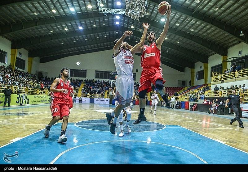 تیم بسکتبال شهرداری گرگان نخستین پیروزی خود را کسب کرد