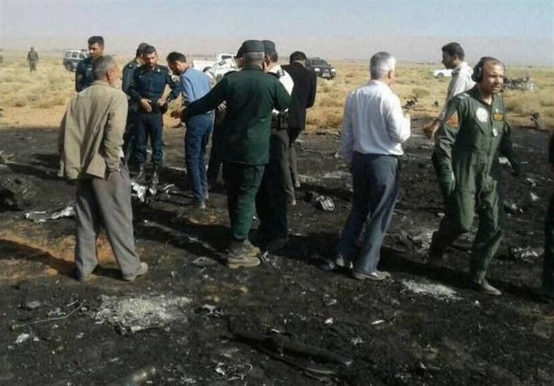 سقوط مقاتلة ایرانیة فی محافظة فارس