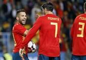 اسپانیا قاطعانه پیروز شد