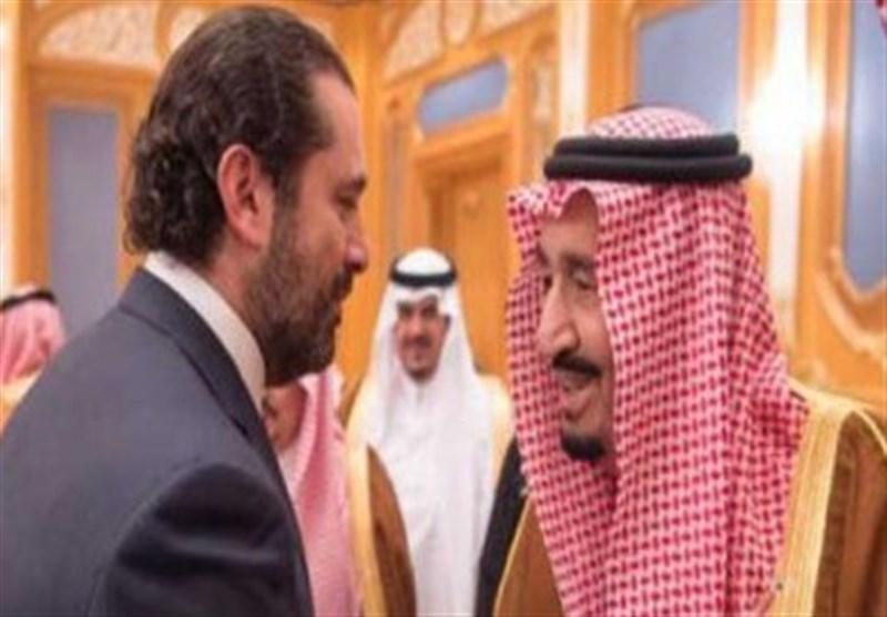 الحریری از پادشاه سعودی استقبال کرد