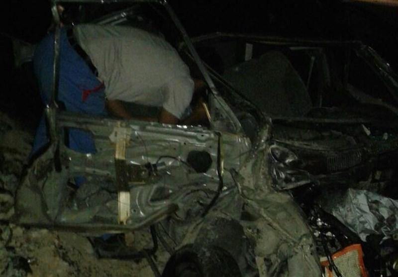 تصادف جاده یاسوج-اصفهان