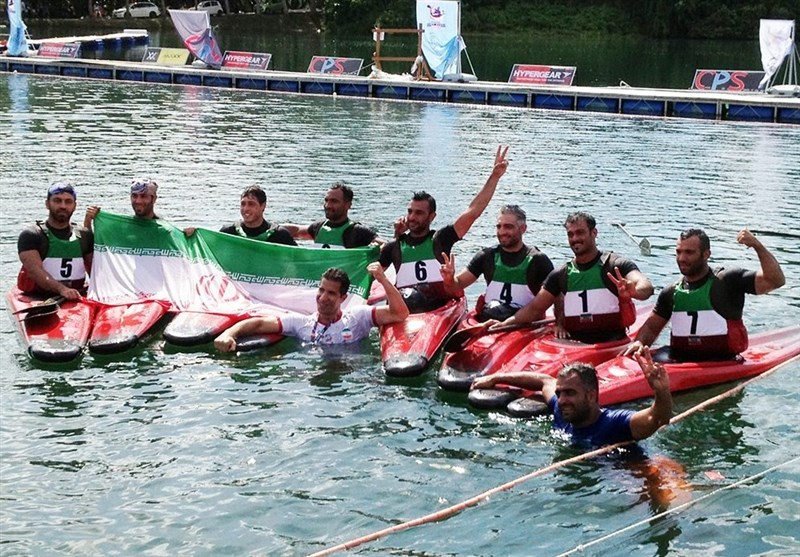 Iran Wins Asian Canoe Polo Championship