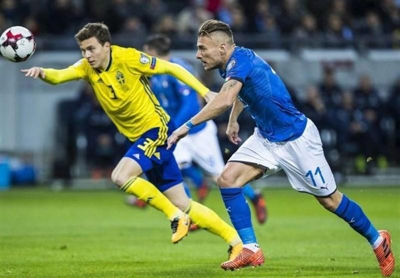 ایتالیا در بازی برگشت مقابل سوئد تغییر تاکتیک میدهد