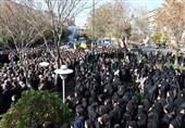 """پیکر شهید مدافع حرم """"فرهنگی"""" در تبریز تشییع شد"""
