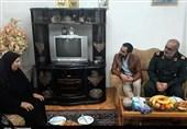 ملاقات با مادر شهید نجفی در رشت