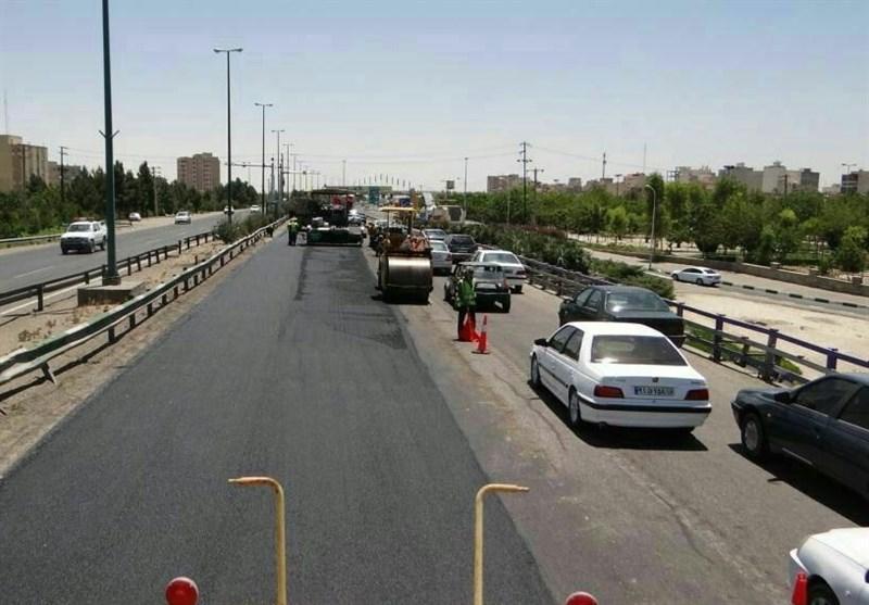 پروژه بهسازی کمربندی امام علی (ع) شهر قم به بهرهبرداری رسید