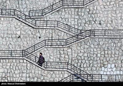 پله های محله یوسف آباد