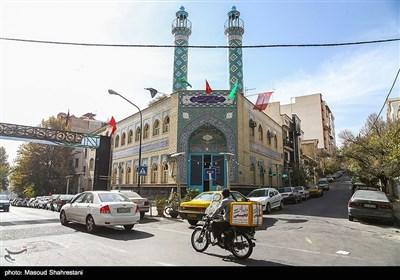 مسجد جمکران تهران واقع در خیابان شهید جهان آرا
