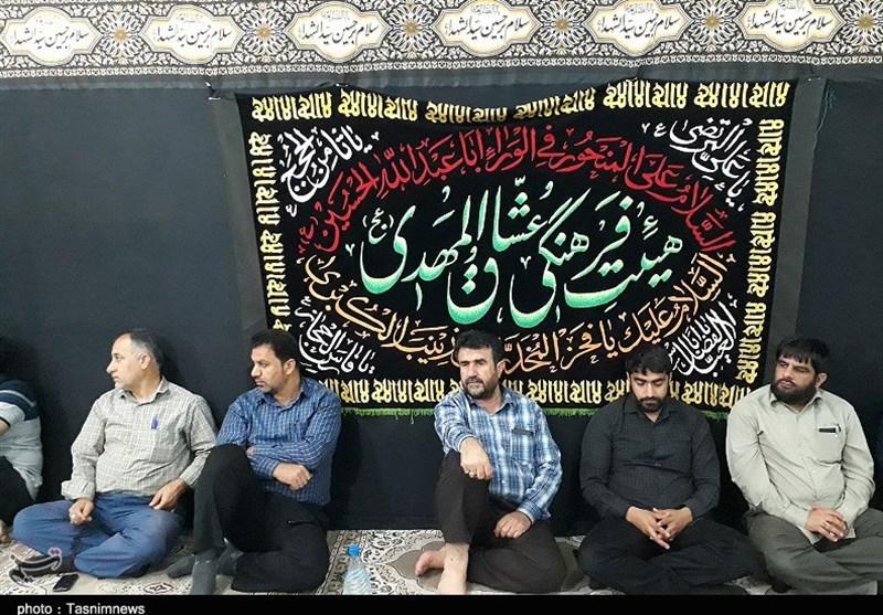 سالگرد شهید مدافع حرم منصور مسلمیسواری در اهواز
