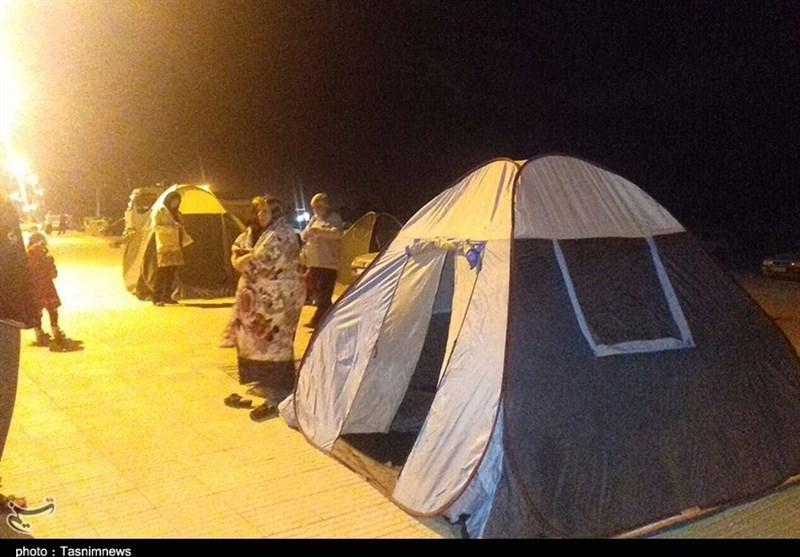 خسارت بالای زلزله در ثلاث باباجانی، جوانرود، دالاهو و سرپلذهاب/اسکان اضطراری آغاز شد