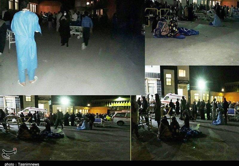 نخستین تصاویر زلزله 7.3 ریشتری در کرمانشاه