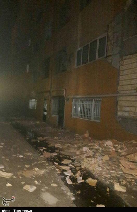 عکس زلزله زلزله کرمانشاه زلزله امروز حوادث کرمانشاه اخبار کرمانشاه