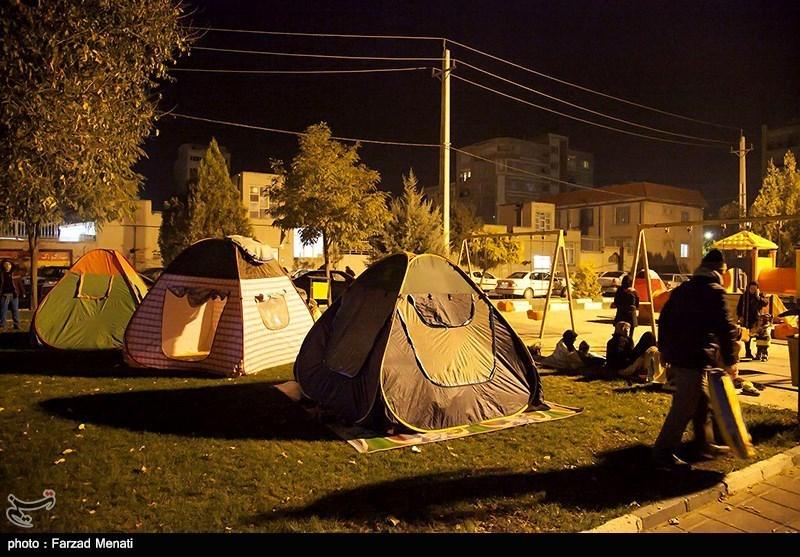 زلزلهزدگان در قصرشیرین فقط به چادر برای اسکان اضطراری نیاز دارند