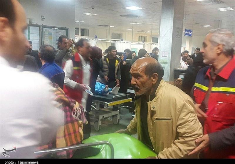 درمان مصدومان زلزله در قصرشیرین با سرعت در حال انجام است