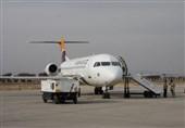 بیش از 64 هزار مسافر در فرودگاه کرمانشاه پذیرش و اعزام شدند