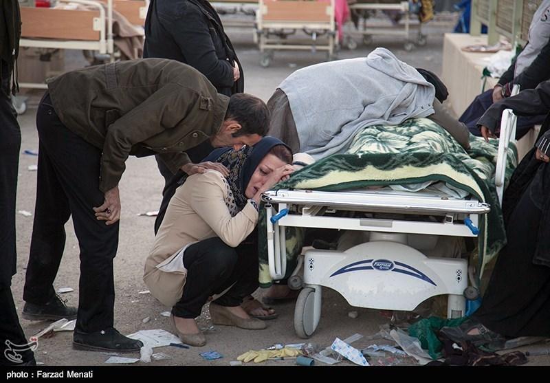 تعداد قربانیان زلزله کرمانشاه به 387 نفر رسید