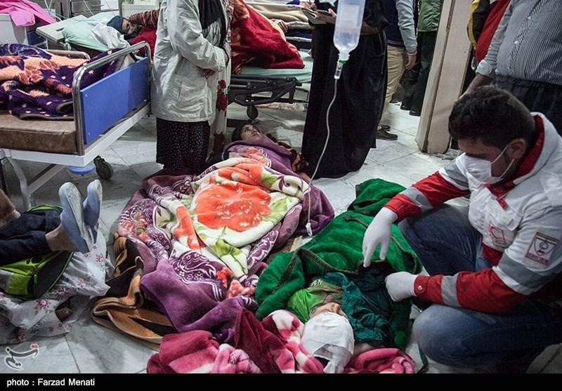 جان باختگان زلزله کرمانشاه به ۳۲۸ نفر رسید + آمار شهرستانها