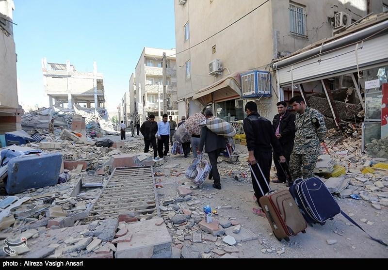 زلزله شب گذشته در قصرشیرین 5 کشته و 40 مصدوم به دنبال داشت