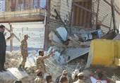 زلزله کرمانشاه| تلاش تکاوران ارتش برای نجات زلزلهزدگان + تصاویر
