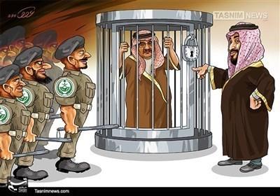 کاریکاتیر.. دیکتاتوریة بن سلمان الشخصیة!