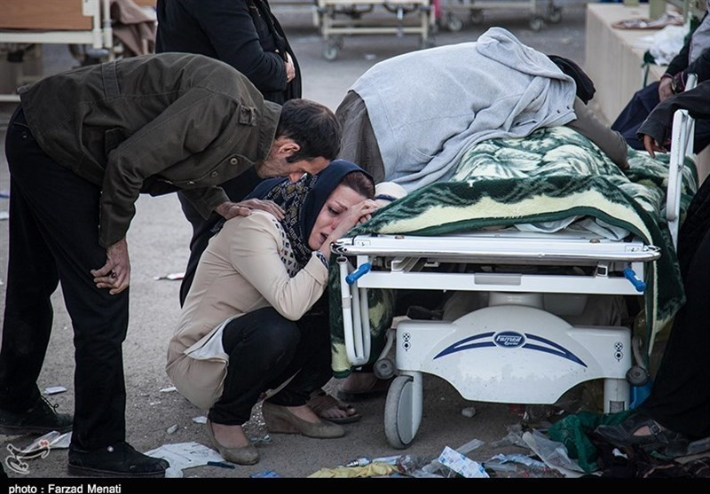A 7.3-magnitude natural disaster  on the Iran-Iraq border leaves hundreds dead