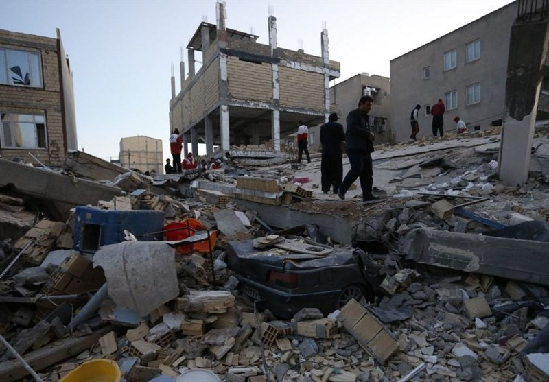Quake Damages 8 Cities, 526 Villages in Western Iranian Province: Official