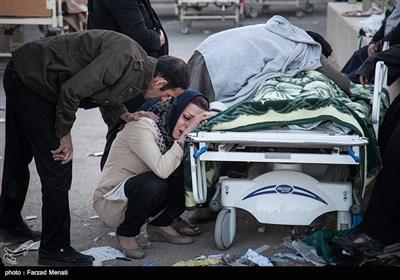 ایران میں زلزلہ کی تباہ کاریاں، تعداد 348 ہوگئی