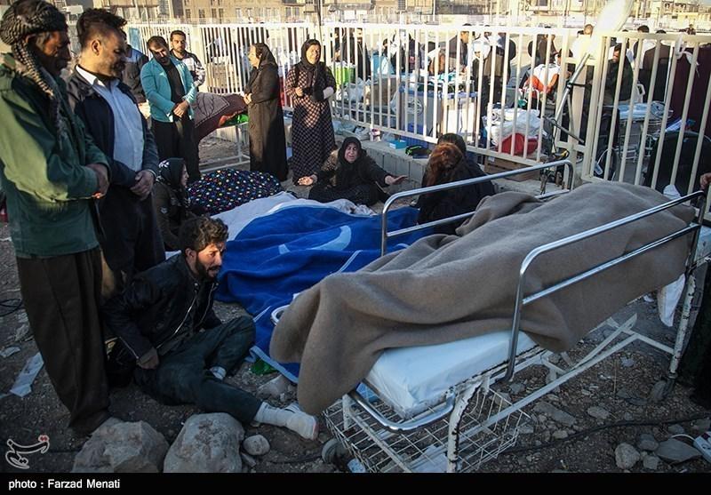 تیمهای درمانی پلدختر به مناطق زلزلهزده کرمانشاه اعزام شدند