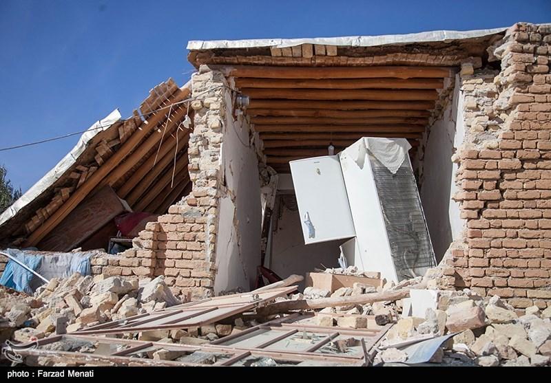 خسارات زلزله در روستاهای اطراف سرپل ذهاب