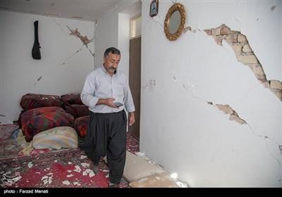 بالصور// خسائر الزلزال فی قرى باطراف سربل ذهاب