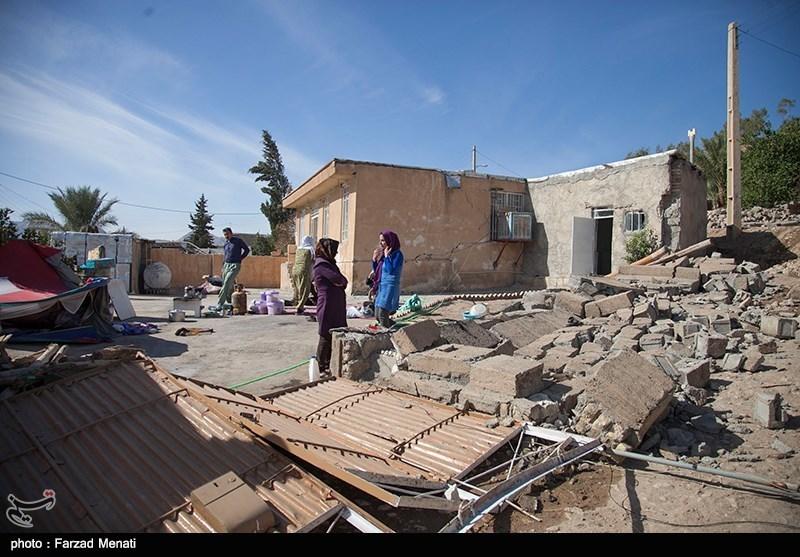 عکس زلزله زلزله کرمانشاه زلزله امروز روستای بابااسکندر حوادث کرمانشاه