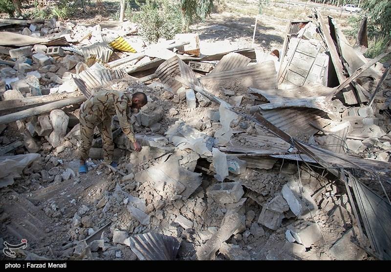 اهتمام ناجا در ارائه خدمات به نقاط زلزلهزده کرمانشاه