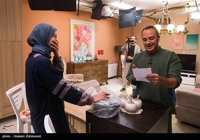حدیث میرامینی و احسان کرمی در پشت صحنه سریال هیات مدیره
