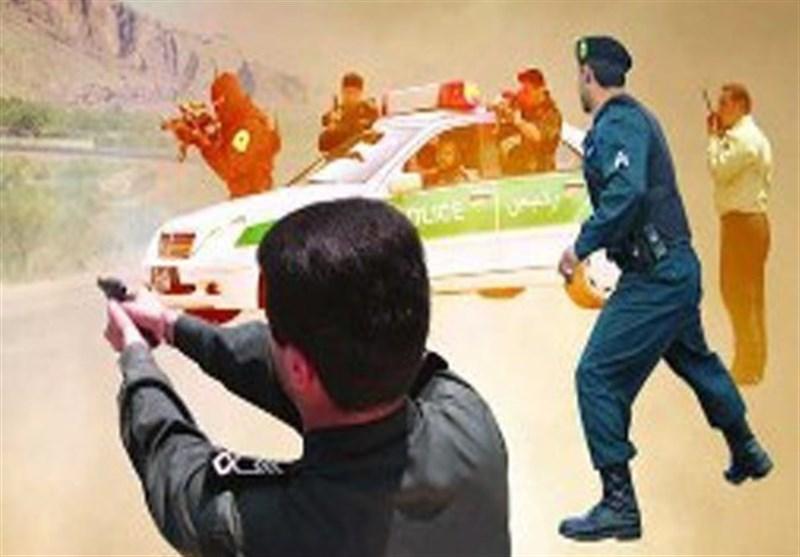 درگیری مسلحانه پلیس هرمزگان با قاچاقچیان مواد مخدر در شهرستان میناب