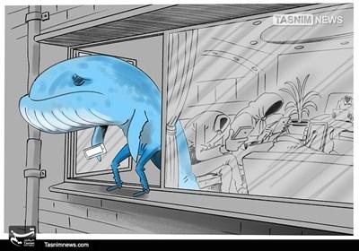 کاریکاتور/ یتیمِ اینترنتی !!!