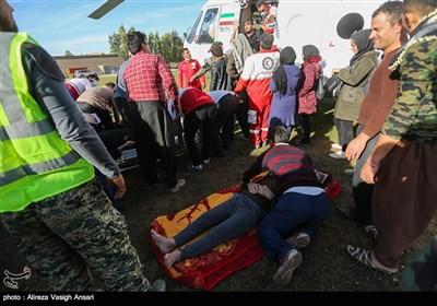 امداد رسانی به زلزله زدگان سرپل ذهاب