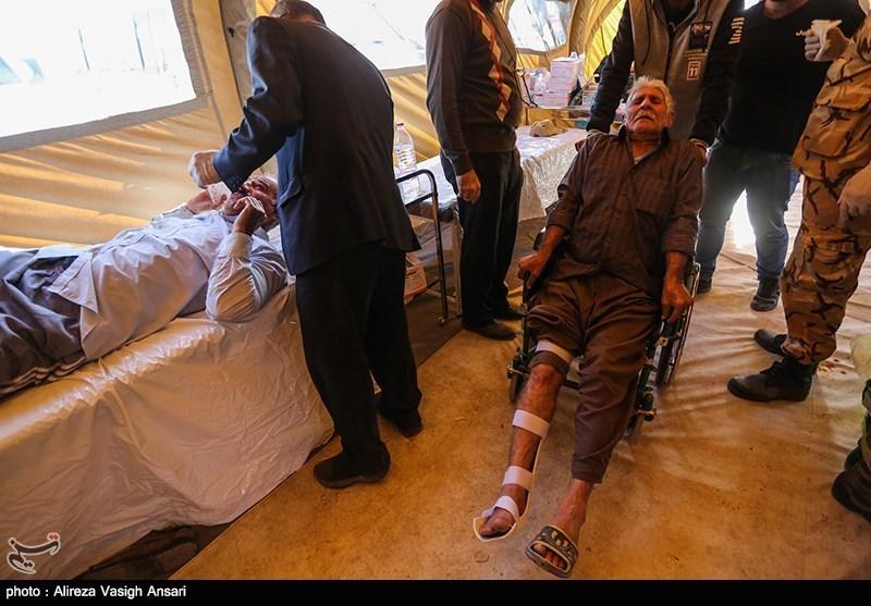 مجروحان زلزله کرمانشاه به تهران رسیدند