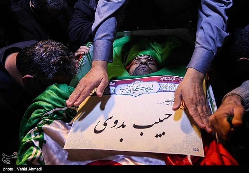 مدافعان حرم چه کسانی هستند حقوق و مزایای مدافعان حرم بیوگرافی کاظم فرامرزی بیوگرافی حبیب بدوی اسامی شهدای مدافع حرم