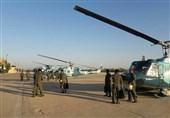 زلزله کرمانشاه| بالگردهای نداجا آماده اعزام به غرب کشور شدند