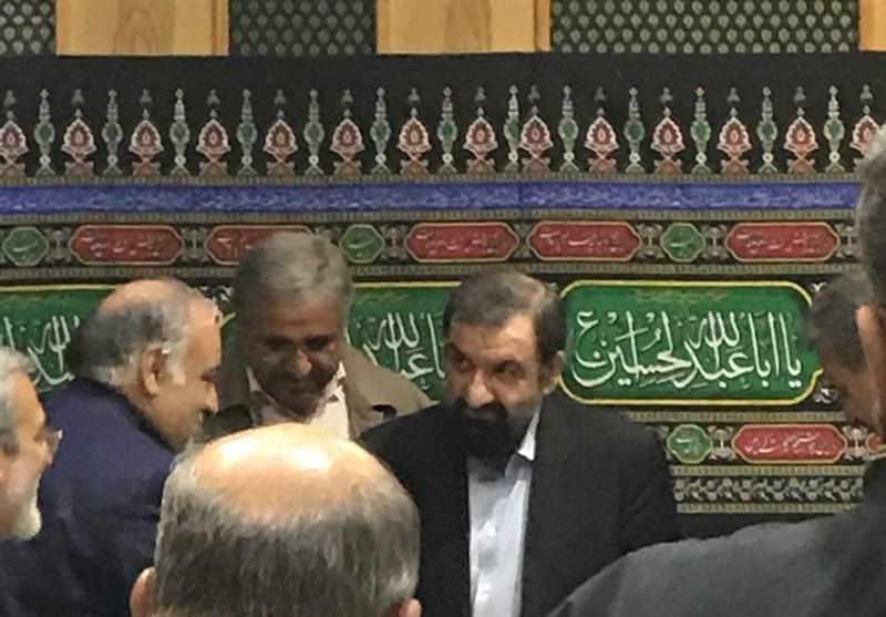 محسن رضایی هم وارد جلسه ستاد بحران کرمانشاه شد