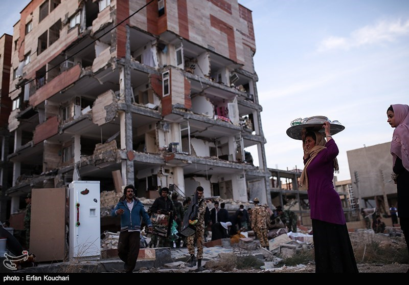 Quake Rescue Work in Iran at Final Stage, Death Toll above 420