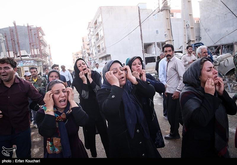 کرمانشاہ میں زلزلے کی تباہ کاریاں، ایران بھرمیں آج سوگ منایا گیا